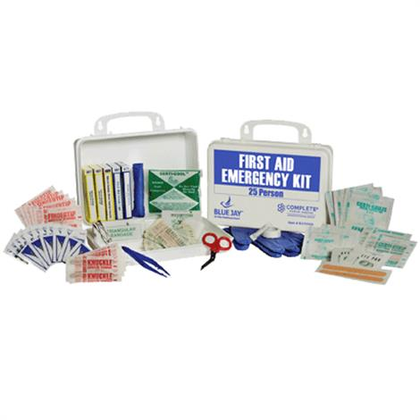 Complete Medical 25 Person First Aid Emergency Kit