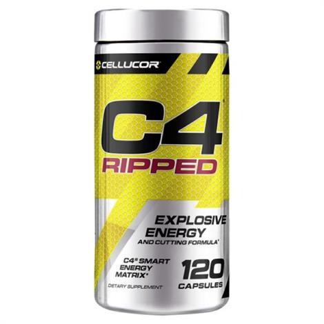 Buy Cellucor C4 Ripped Capsule Body Building Supplement