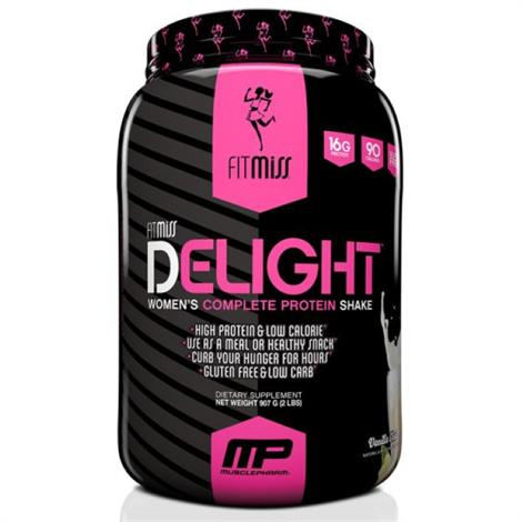 Musclepharm FitMiss Delight Protein Shake Dietary Supplement