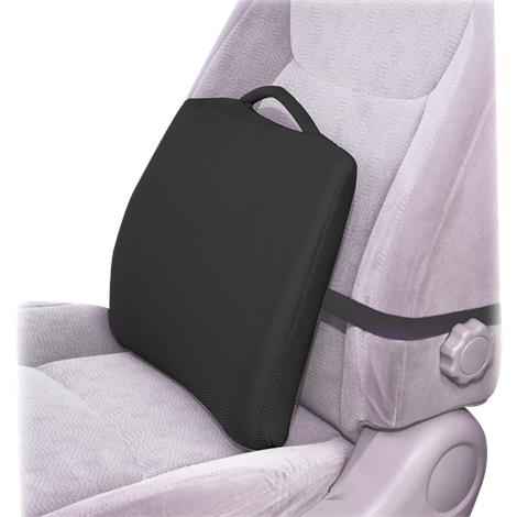 Essential Medical Black Lumbar Cushions for Bucket Seats