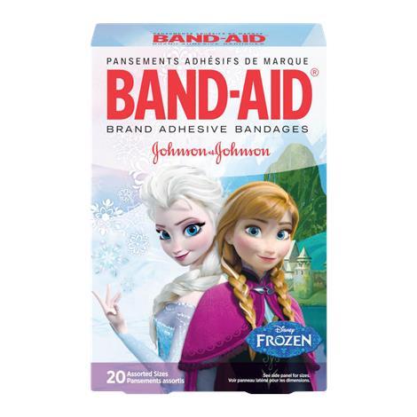 Johnson & Johnson Band-Aid Decorated Disney Frozen Adhesive Bandage