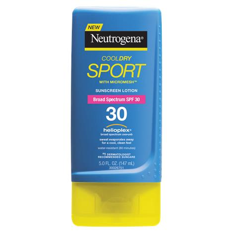 Neutrogena CoolDry Sport Sunscreen Lotion With SPF 30