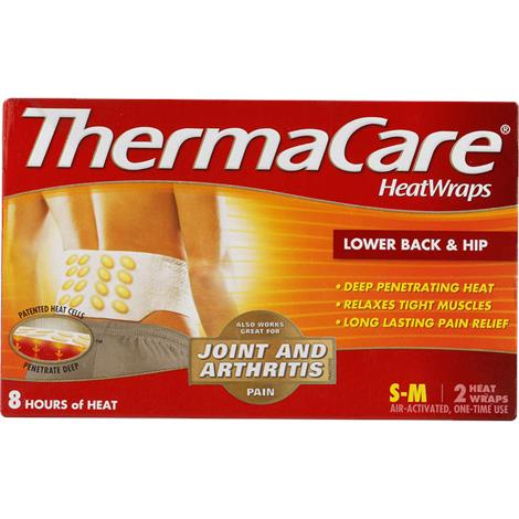 ThermaCare Lower Back And Hip Heat Wraps