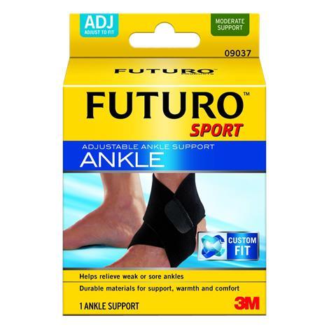 Futuro Sport Adjustable Neoprene Ankle Support