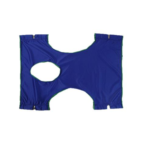Invacare Solid Polyester Sling With Commode Opening