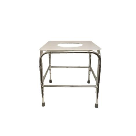 ConvaQuip Bariatric Shower Stool with Flat Seat