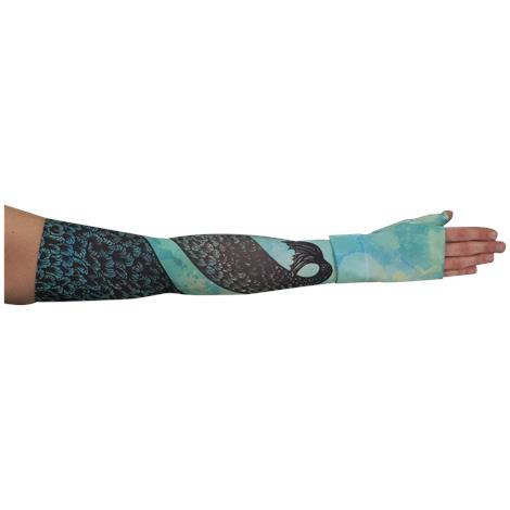 LympheDivas Mystical Mermaid Compression Arm Sleeve And Gauntlet