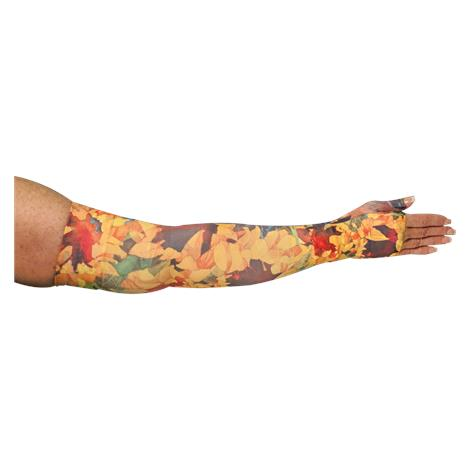 LympheDivas Sunny Sunflower Compression Arm Sleeve And Gauntlet