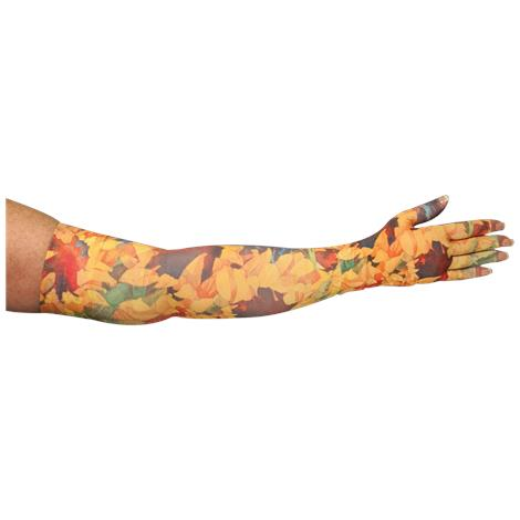 LympheDivas Sunny Sunflower Compression Arm Sleeve And Glove
