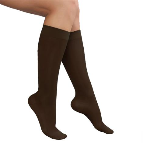 Advanced Orthopaedics Closed Toe Knee High 15-20 mmHg Compression Stocking For Ladies
