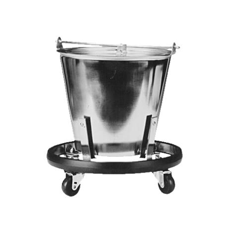 Graham-Field Stainless Steel Kick Bucket and Stand Set