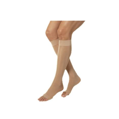 BSN Jobst Ultrasheer Open Toe Knee-High 30-40mmHg Extra Firm Compression Stockings