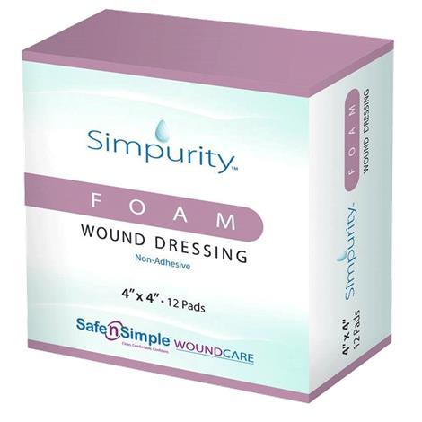 Safe N Simple Simpurity Foam Wound Dressings
