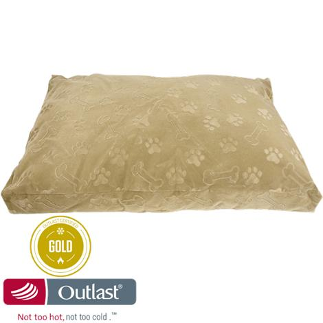 Outlast Not Too Hot Not Too Cold Temperature Regulating Pet Bed