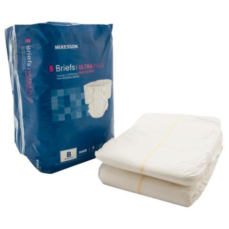 McKesson Ultra Plus Bariatric Tab Closure Adult Briefs