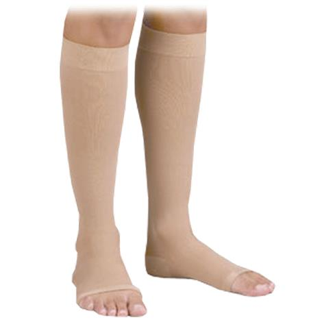FLA Orthopedics Activa Anti-Embolism Open Toe Knee High 18mmHg Stockings