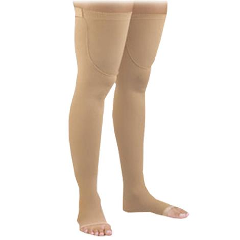 FLA Orthopedics Activa Anti-Embolism Open Toe Thigh High 18mmHg Stockings