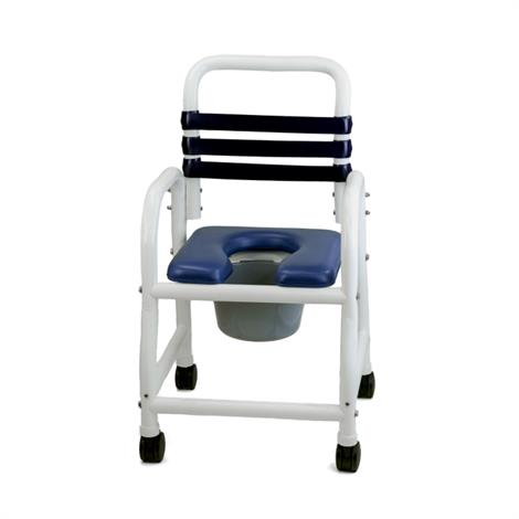 "Mor Medical 22"" Width Deluxe Era Infection Shower Commode Chair"