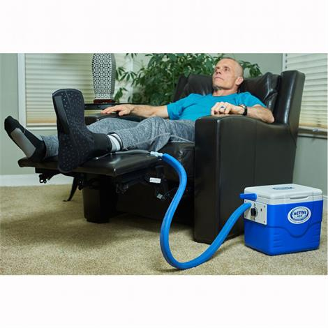 Polar Active Ice 3.0 Foot And Ankle Cold Therapy System With 9 Quart Cooler