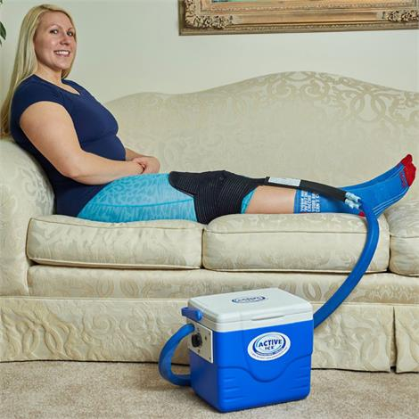 Polar Active Ice 2.0 Knee And Joint Cold Therapy System With 9 Quart Cooler