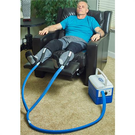Polar Active Ice 2.0 Double Knee and Joint Cold Therapy System With 15 Quart Cooler