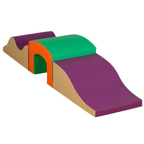 Childrens Factory Curved Tunnel Climber