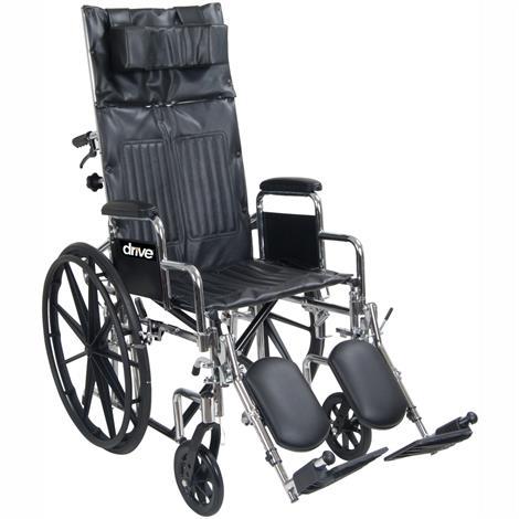 Drive Chrome Sport Full-Reclining Wheelchair