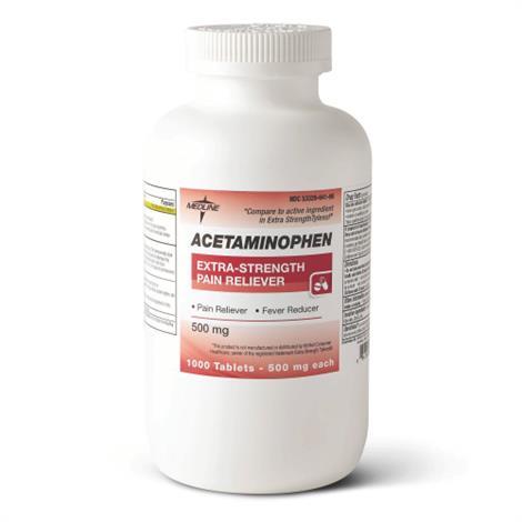 Buy Medline Acetaminophen Extra Strength Tablets