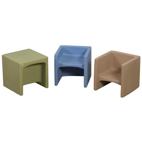 Childrens Factory Woodland Cube Chairs