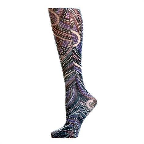 Complete Medical Denim Dotty 8-15 mmHg Knee High Compression Socks