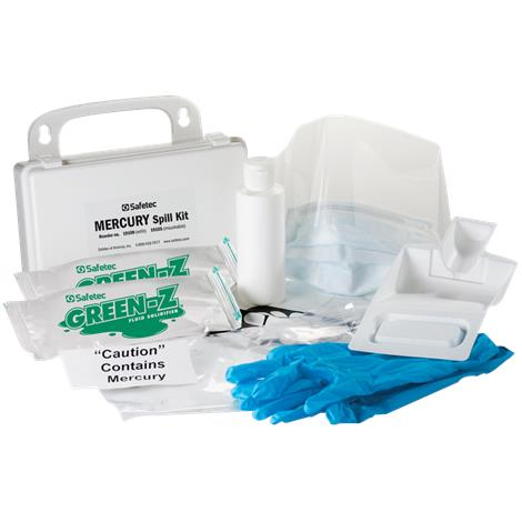 Safetec EZ-Cleanz Mercury Spill Kit