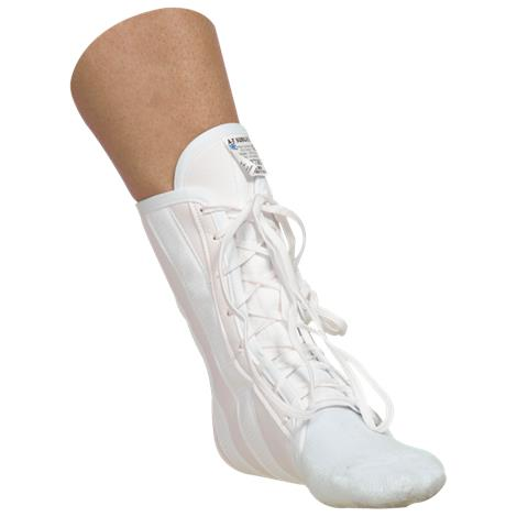 AT Surgical Lace Up Canvas Ankle Brace