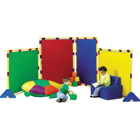 Childrens Factory Big Screen Rainbow PlayPanel Set