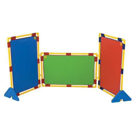 Childrens Factory Rectangular Rainbow PlayPanel Set