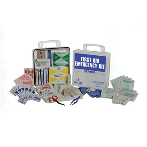 Complete Medical 50 Person First Aid Emergency Kit