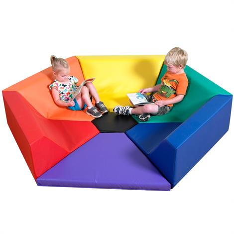 Childrens Factory Hexagon Happening Hollow Seating