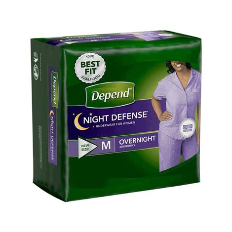 Depend Night Defense Underwear For Women - Overnight Absorbency