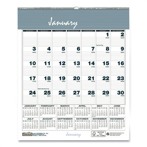 Buy House of Doolittle Bar Harbor 100% Recycled Wirebound Monthly Wall Calendar