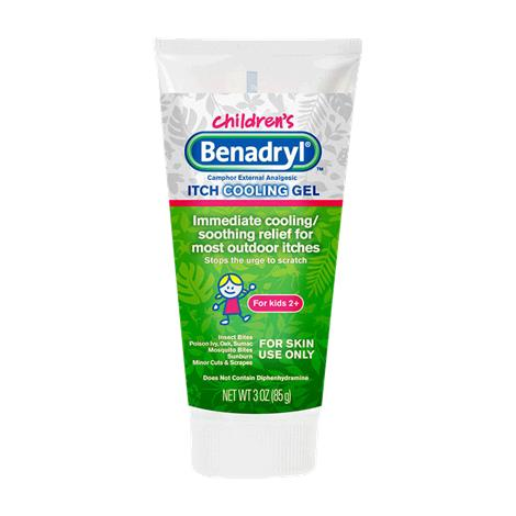 Benadryl Original Strength Kidz Anti Itch Gel