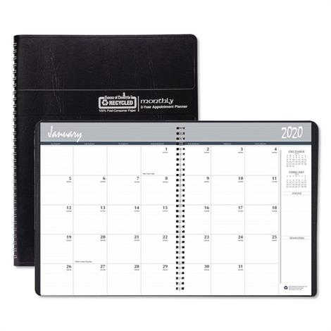 Buy House of Doolittle 24-Month 100% Recycled Ruled Monthly Planner