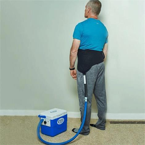 Buy Polar Active Ice 3.0 Lumbar and Hip Cold Therapy U-Shaped Bladder System With 9 Quart Cooler