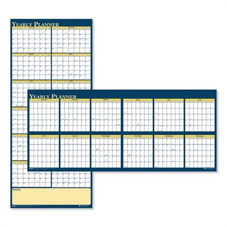 Buy House of Doolittle 100% Recycled Reversible Yearly Wall Planner