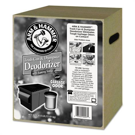 Buy Arm & Hammer Trash Can & Dumpster Deodorizer with Baking Soda
