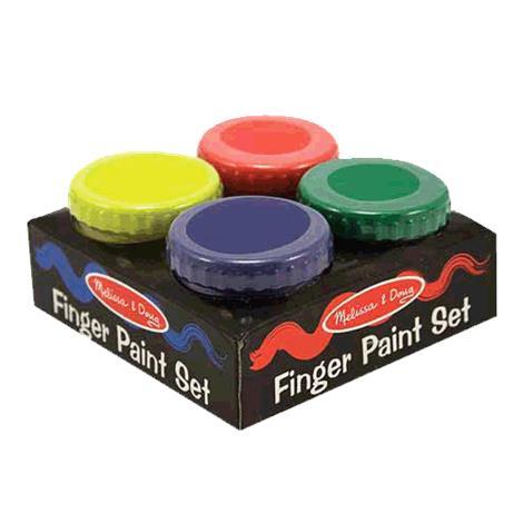 Melissa & Doug Finger Paint Set