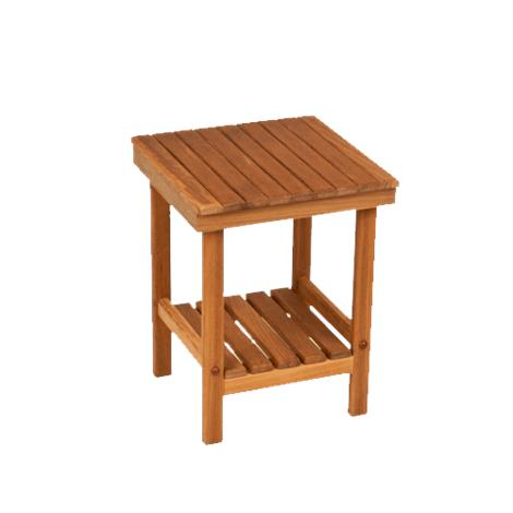Teakworks4u Mini Rigid Teak Shower Bench