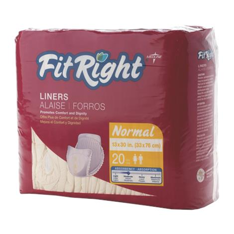 Medline FitRight Liners