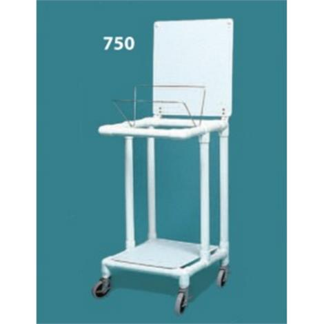 Duralife Economy Laundry Hamper Stand With Twin Wheels
