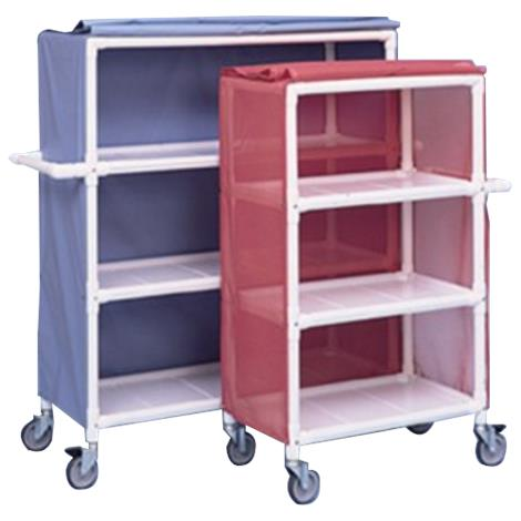 Buy Duralife Linen Cart With Removable Shelves