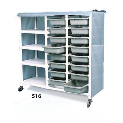 Duralife Shelf And Drawer Cart