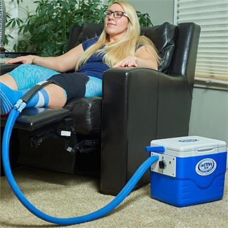 Buy Polar Active Ice 3.0 Knee And Joint Cold Therapy U-Shaped Bladder System With 9 Quart Cooler